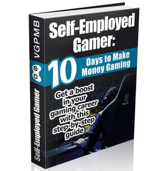 gamer ebook cover example