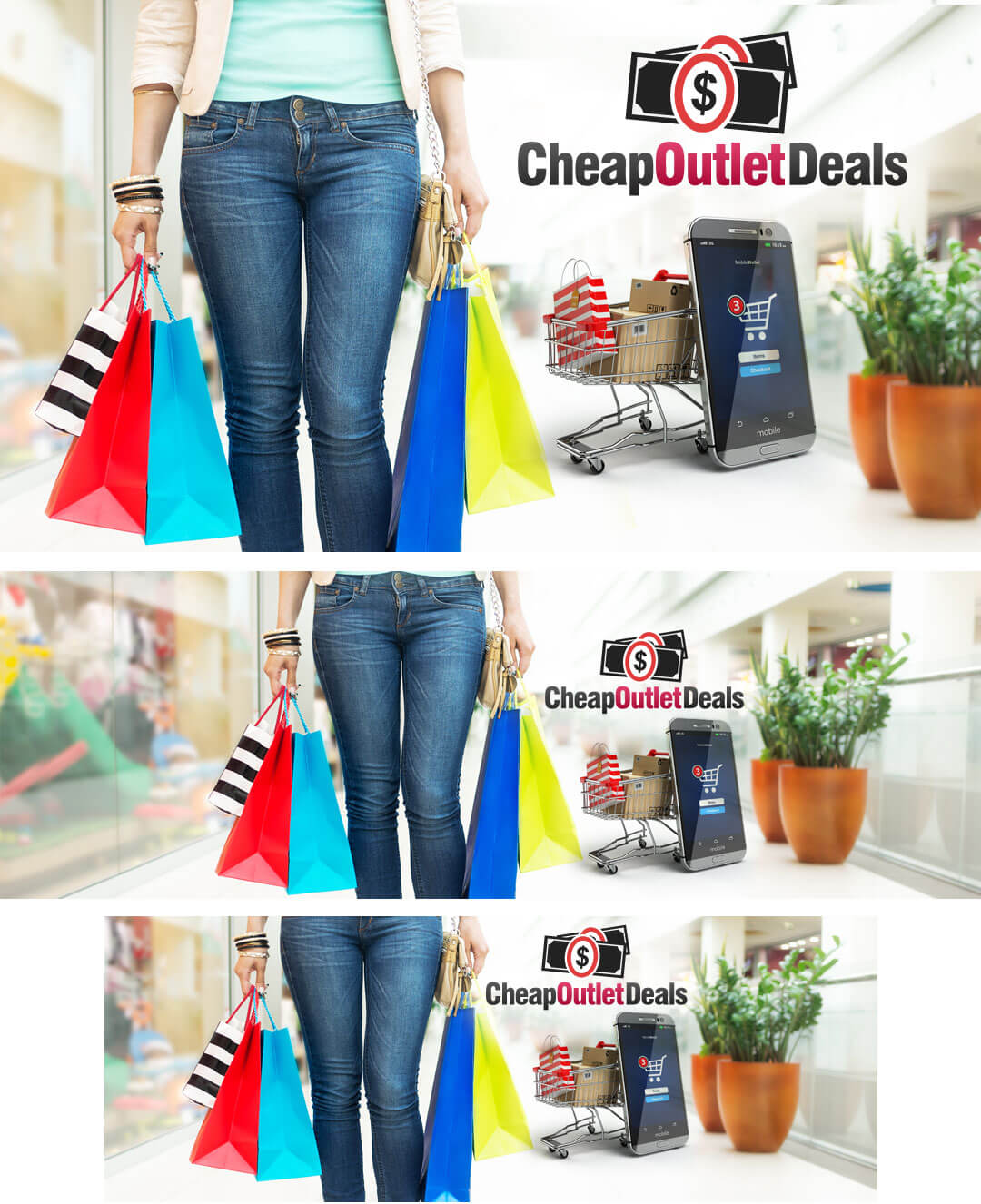 cheapoutletdeals social media package example