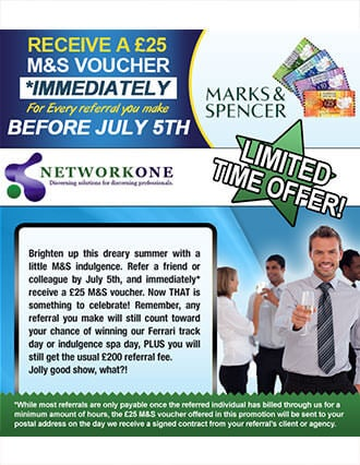 for flyer example network one