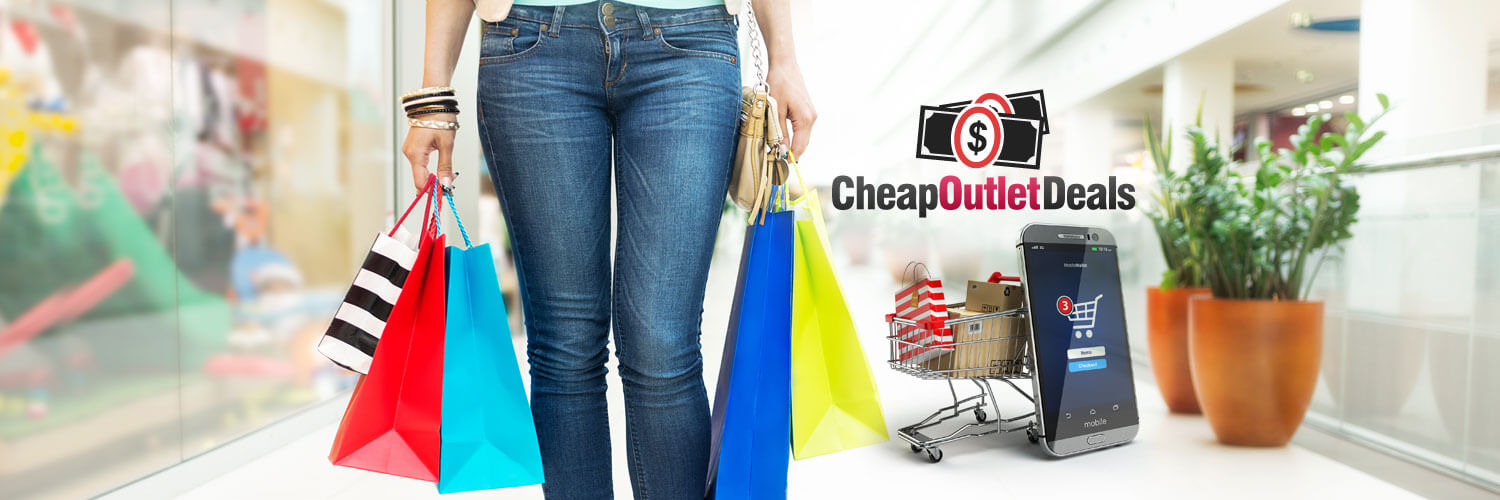 outlet deals twitter banner design