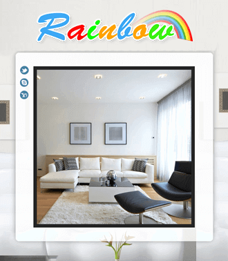 Rainbow HTML Site Example