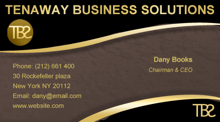 Dany Books Business Card Example
