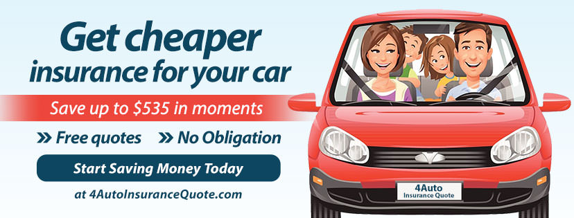 Facebook cover example for car insurance