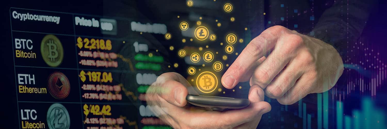 crypto coin twitter header design