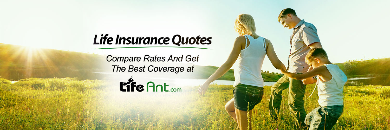 Life Insurance Twitter Banner Example
