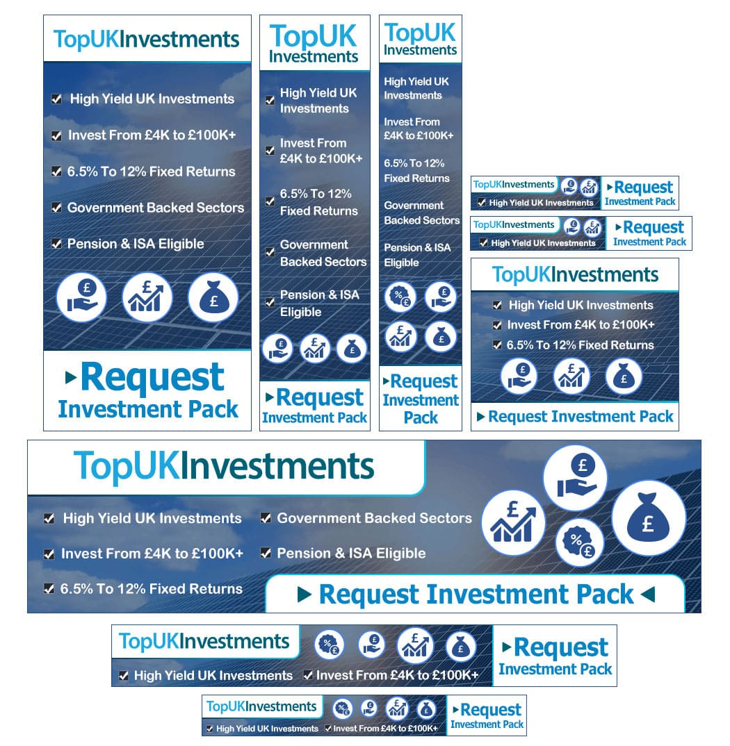 Top UK Investments Banner Sets