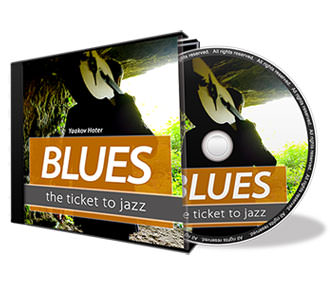 Blues Learning CD Cover Design
