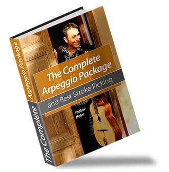 Guitar Lessons Ebook Cover Design