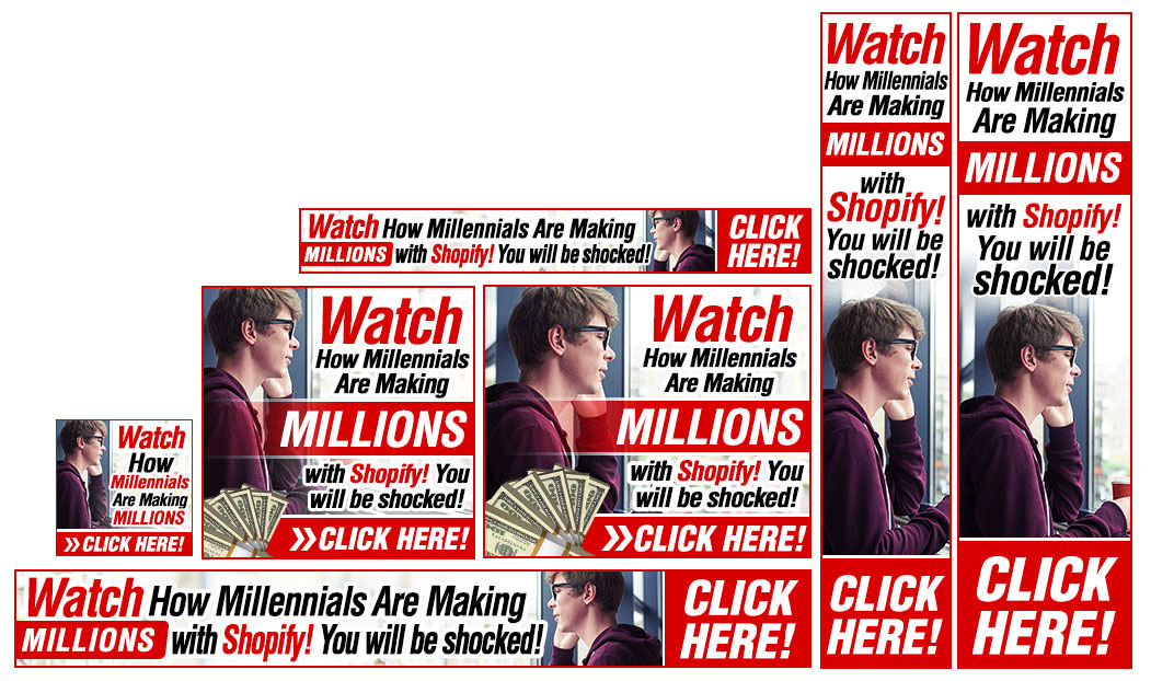 Making Money Banner Example Set