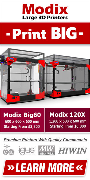 3D Printer Banner Design For Google