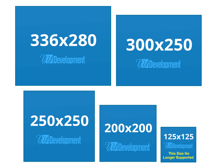 How To Choose Google Ads Banner Sizes Yydevelopment