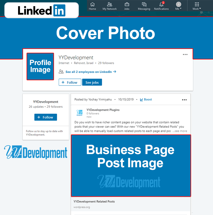 Linkedin Business Page Images Size