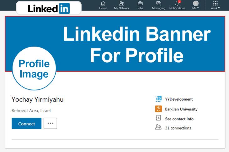 Linkedin Profile Page Images Size