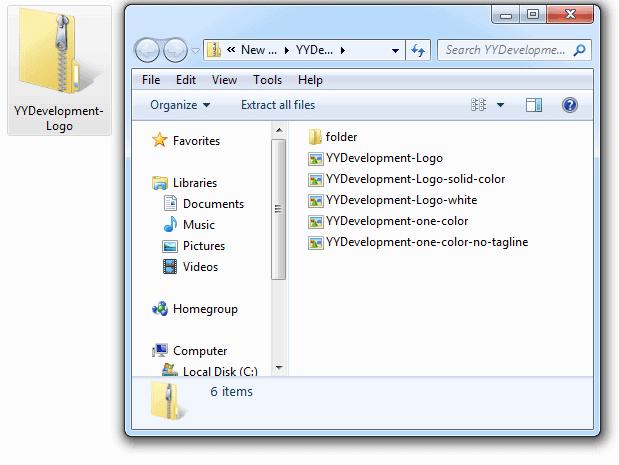 Open ZIP Folder