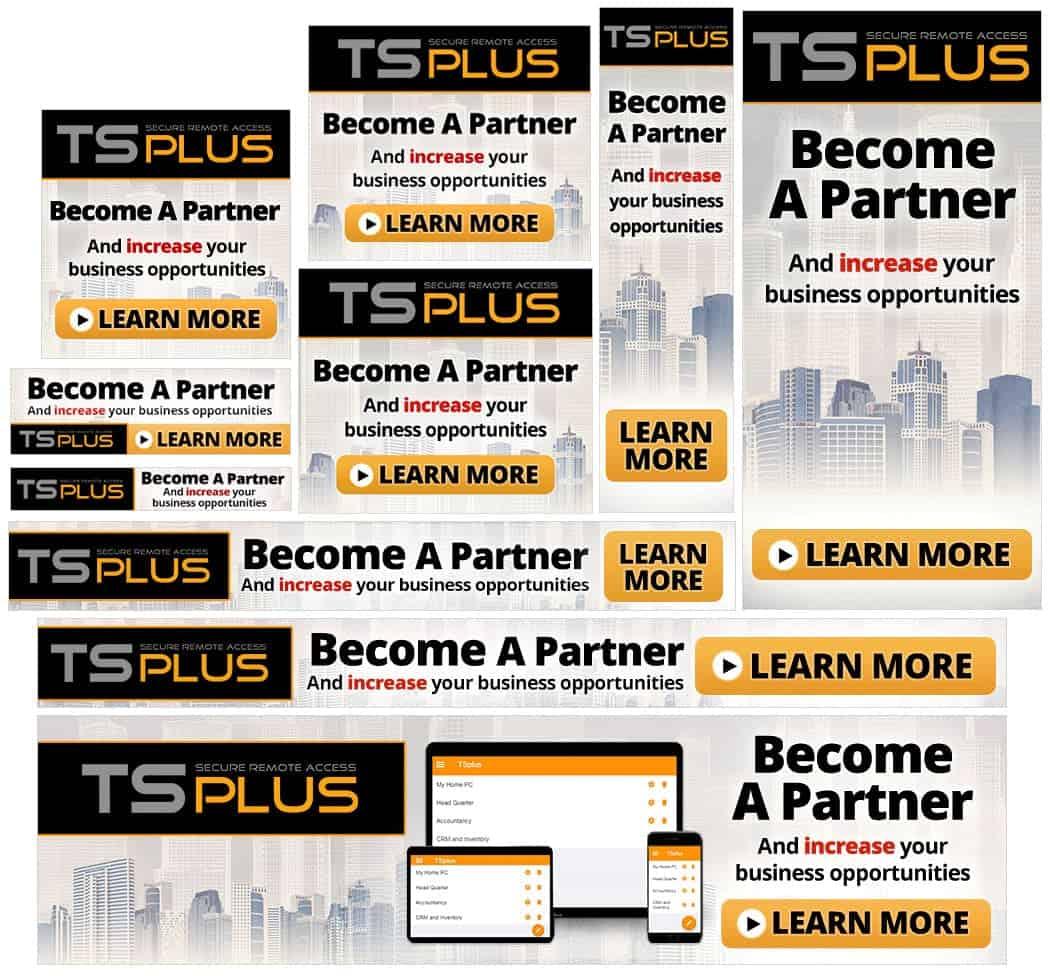 TSPlus Affiliate BannersSet